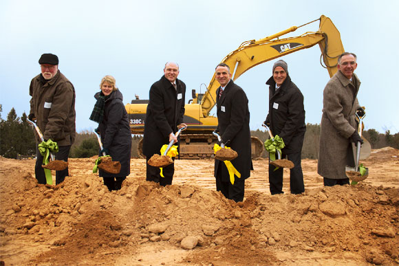 Avon Assisted Living Ground Breaking